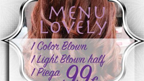 MENU LOVELY 99€