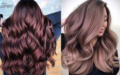Tutte pazze per i rose brown hair: i capelli castano rosè ispirati al vino