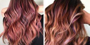 capelli rose brown
